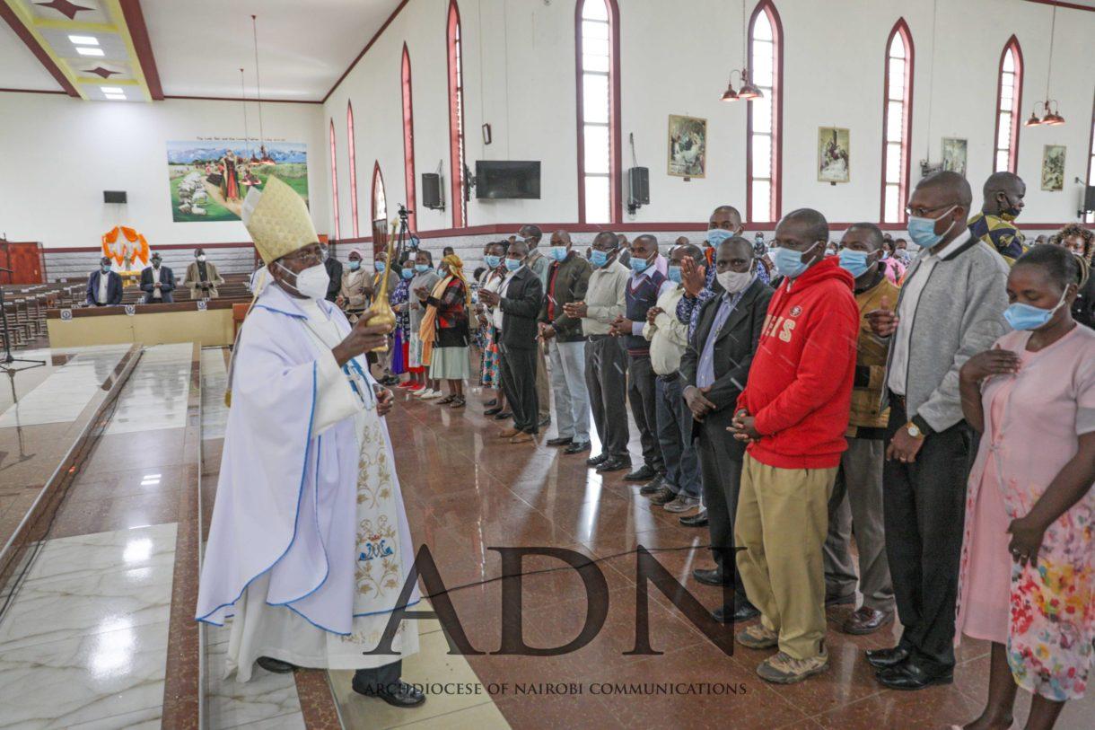 His Lordship Bishop David Kamau